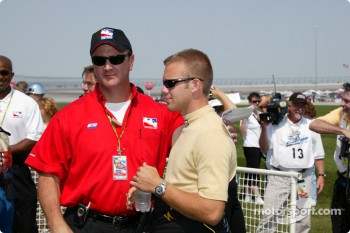 IRL's Tim Nieman and Ed Carpenter