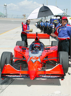 Greg Ray, driver of the #13 Access Motorsports