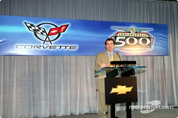 Joie Chitwood, Indianapolis Motor Speedway senior vice president of business affairs