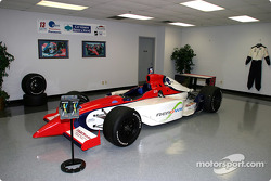 Access Motorsports car on display