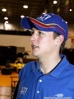 Panther Racing driver Mark Taylor