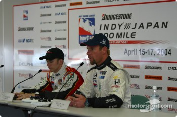 Press conference: Dan Wheldon and Greg Ray