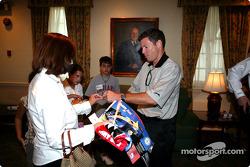 Indianapolis 500 - Washington D.C. visit: Scott Sharp