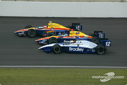 Robbie Buhl, Sarah Fisher and Raul Boesel