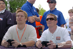 Robby McGehee and Scott Dixon