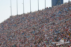 The race fans at Chicagoland Speedway