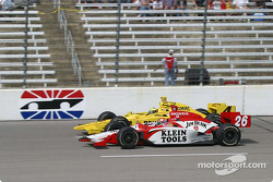 Dan Wheldon and Tomas Scheckter