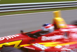 Jimmy Vasser leaves pit lane