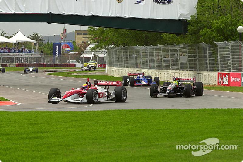 Mauricio Gugelmin; Christian Fittipaldi; Scott Dixon