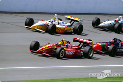 Memo Gidley, Kenny Brack, Tony Kanaan and Max Papis