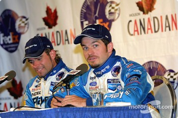 Press conference: Alex Tagliani and Patrick Carpentier
