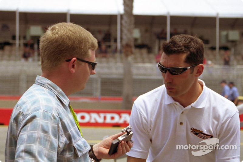Max Papis in an interview with Motorsport.com's Australian reporter Clayton Bradford