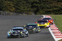 #77 Dempsey Proton Competition, Porsche 911 RSR: Richard Lietz, Michael Christensen, #98 Aston Martin Racing, Aston Martin Vantage GTE: Paul Dalla Lana, Pedro Lamy, Mathias Lauda