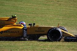 Dreher: Jolyon Palmer, Renault Sport F1 Team RS16