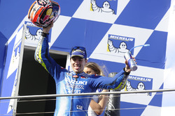 Podium: third place Maverick Viñales, Team Suzuki Ecstar MotoGP