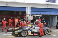 ELMS Foto - Pit stop #56 AT Racing Ferrari F458 Italia: Alexander Talkanitsa Sr., Alexander Talkanitsa Jr., Alessandro Pier Guidi