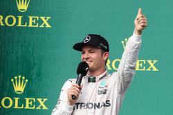 Podium: 2. Nico Rosberg, Mercedes AMG F1