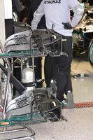 Formula 1 Foto - Mercedes AMG F1 W07 Hybrid, ala anteriore