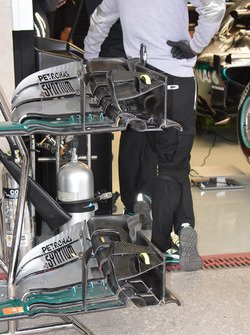 Mercedes AMG F1 W07 Hybrid, front wing