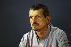 Guenther Steiner, Haas F1 Team Prinicipal in the FIA Press Conference