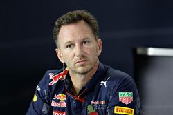 Pressekonferenz: Christian Horner, Red Bull Racing, Teamchef