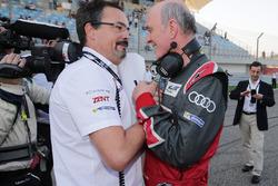 Rob Leupen, Toyota-Teammanger; Dr. Wolfgang Ullrich, Audi-Motorsportchef
