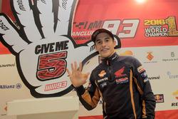 Marc Marquez celebración campeonato del mundo