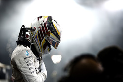 Lewis Hamilton, Mercedes AMG F1 im Parc Ferme
