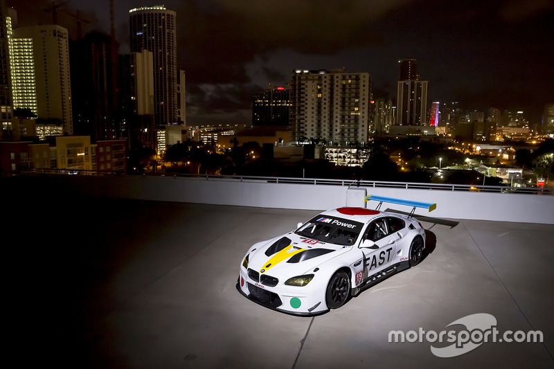 Art-Car: BMW M6 GTLM im Design von John Baldessari