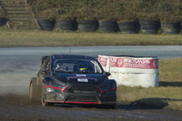 World Rallycross Foto - Alexander Wurz prova la Ford Fiesta World RX Team Austria