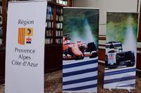 Formula 1 Fotoğraflar - Fransa GP'si basın toplantısı logoları