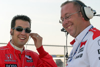 IndyCar Foto - Sam Hornish Jr., Tom German