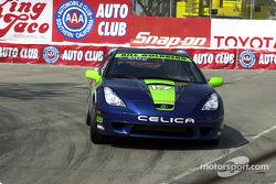 Celebrity race practice: Bill Goldberg