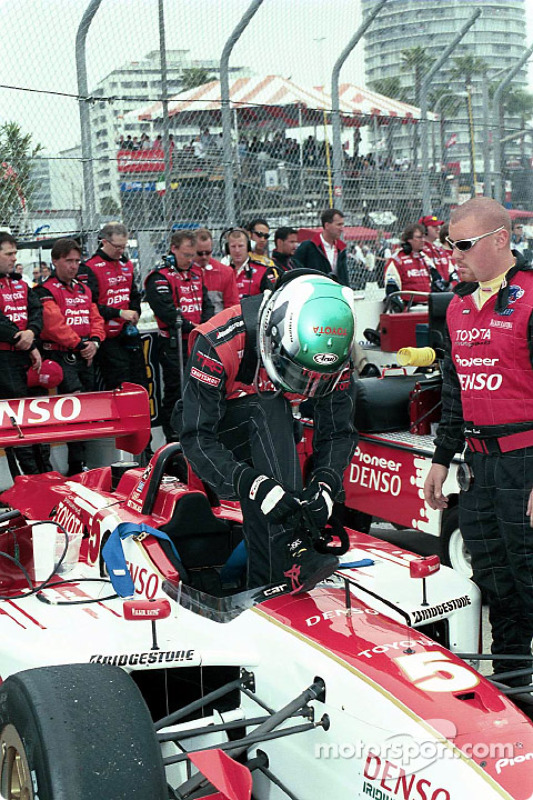 Tora Takagi getting ready for the race