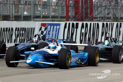 Alex Tagliani, Dario Franchitti and Paul Tracy