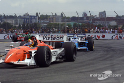 Oriol Servia and Patrick Carpentier