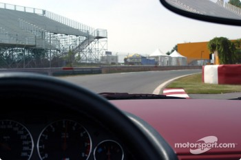 Exiting Senna hairpin