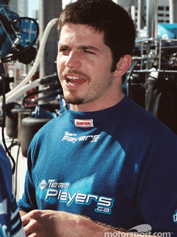 Patrick Carpentier had a short race