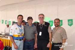 Carlos Slim, Jo Ramirez, Tom Anderson and Gustavo del Campo