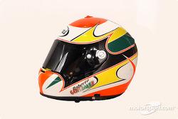 Roberto Gonzalez's helmet