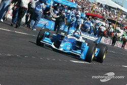 Patrick Carpentier heads to the track