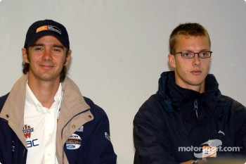 Press conference: Darren Manning and Sbastien Bourdais