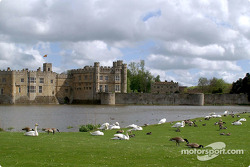 Leeds Castle is close to the track