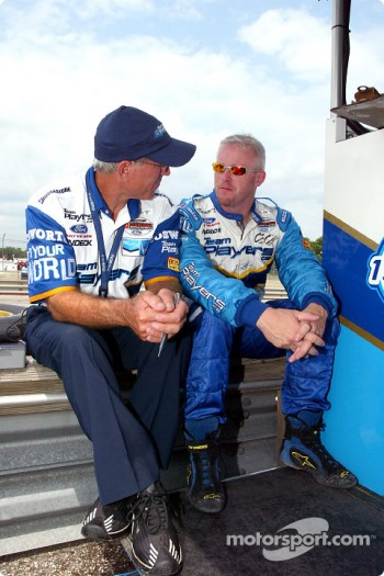 Tony Cicale and Paul Tracy