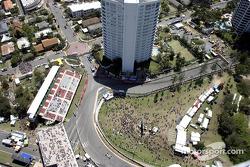 Aerial view of Adrian Fernandez