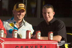 Ryan Dalziel and A.J. Allmendinger are among the judges