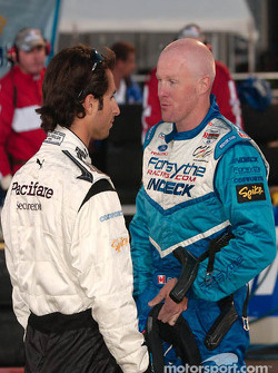 Bruno Junqueira and Paul Tracy