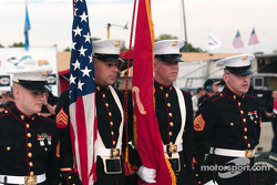 Marine Corp color guard