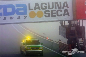 Laguna Seca fog delayed Friday morning on-track activity