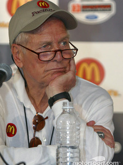 McDonald's press conference: Paul Newman